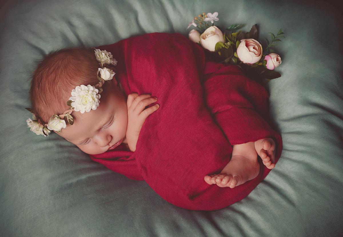 Neugeborenenfotografie im Fotostudio Würzburg